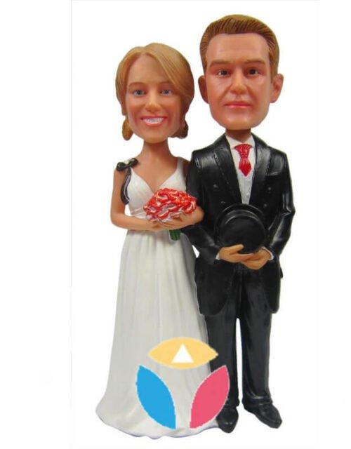 Customized Couple Wedding Bobbleheads