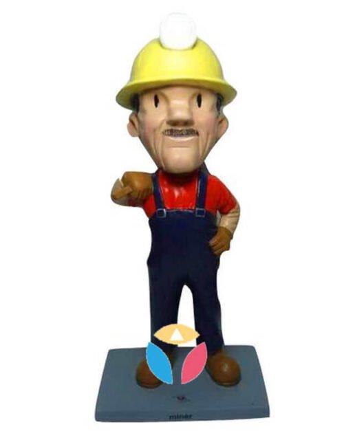 Customized Miner Bobbleheads
