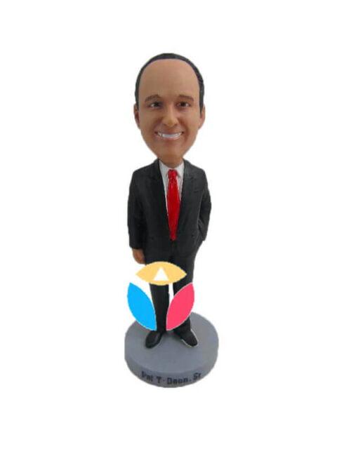 Executive man custom bobblehead