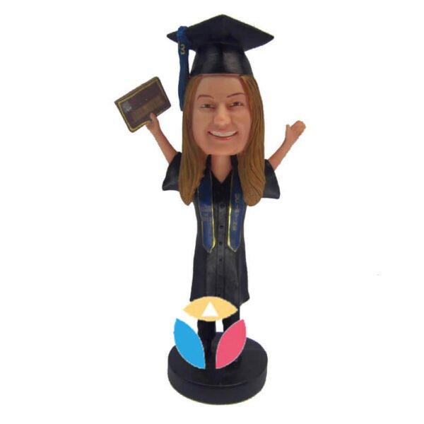 Get diploma custom bobblehead