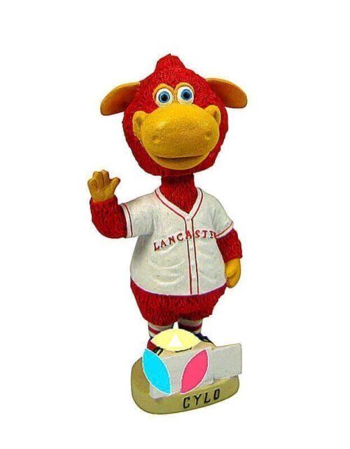 Make Your Own Baseball Mascot Bobblehead