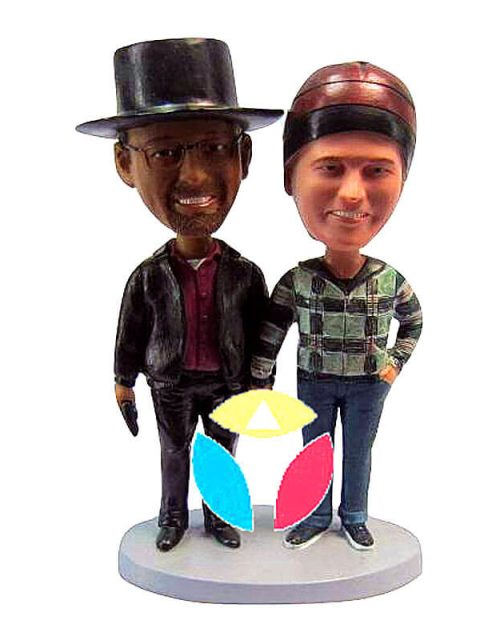 Make Your Own Couple Bobblehead
