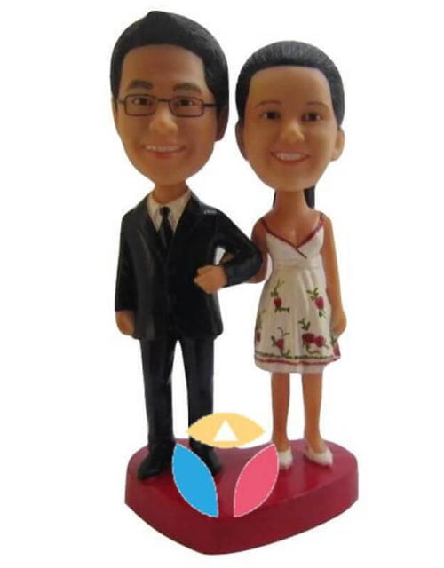 Make Your Own Couple Bobbleheads