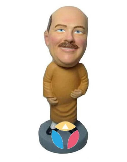 Monk Custom Bobblehead
