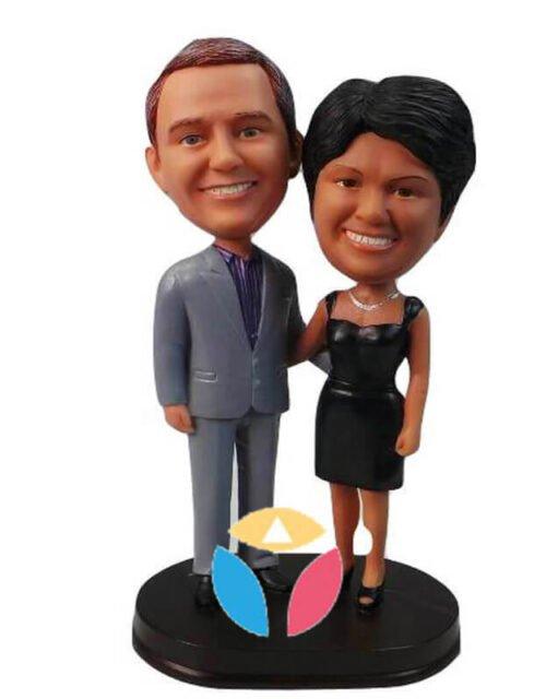Personalized Couple Bobble Head Doll