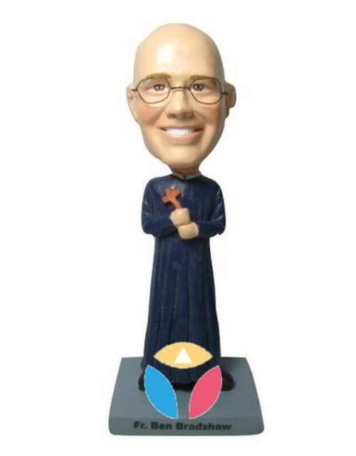 Personalized Priest Bobble Head Doll