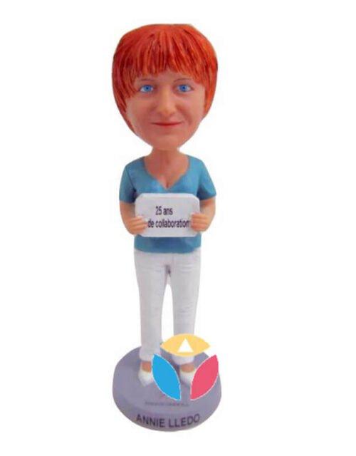 Showing Board Custom Bobble Head