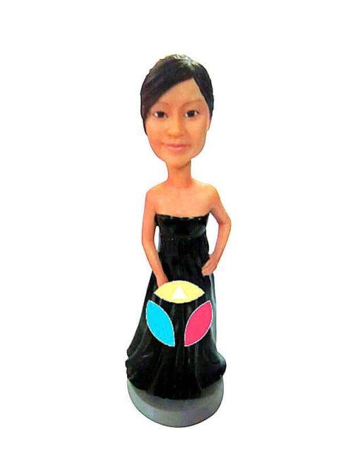 Strapless Dress Custom Bobbleheads