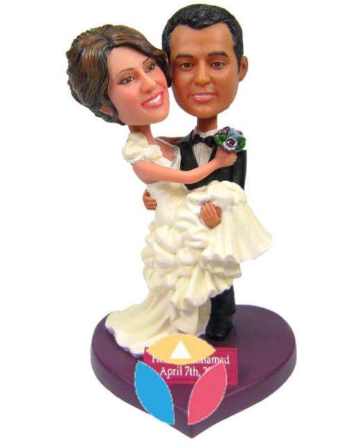 The Cheapest Couple Wedding Bobble Head
