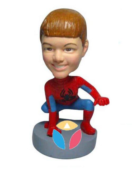 Customized Spiderman Bobbleheads