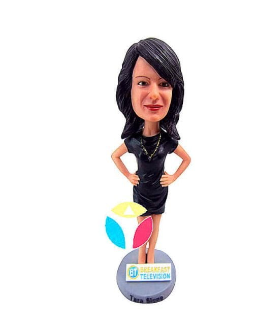 Hands On Hip With Necklace Bobblehead