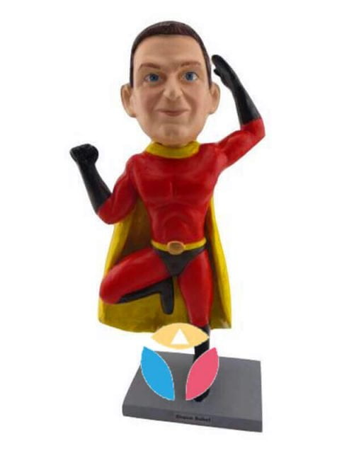 Incredibles Superhero Man Custom Bobbleheads Doll