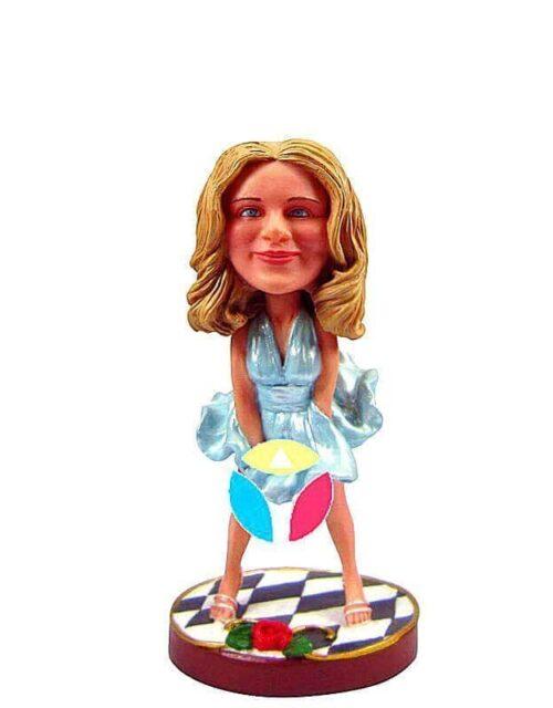 Marilyn Pose Custom Bobbleheads