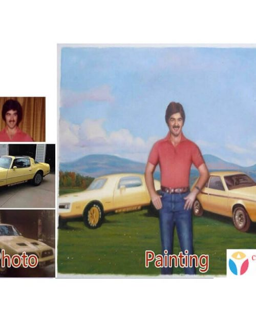 Custom Paintings Made From Your Photos