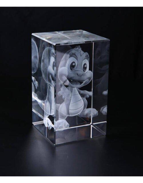 3d laser crystal