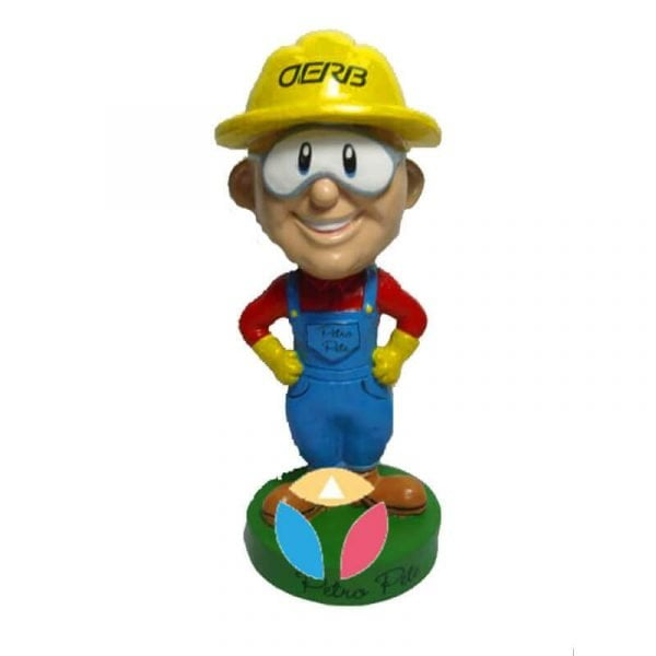 Super Miner Custom Bobble Head