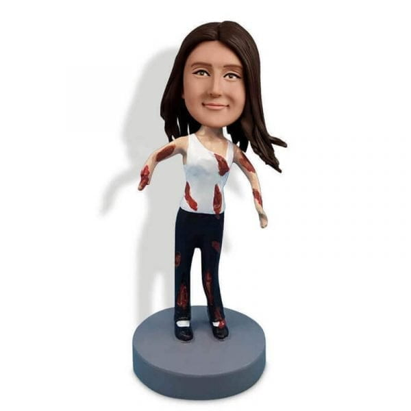 Zombie Is Walking To You Custom Bobblehead