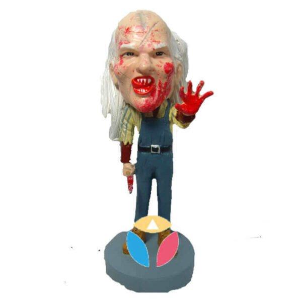 Zombie Male Custom Bobblerhead