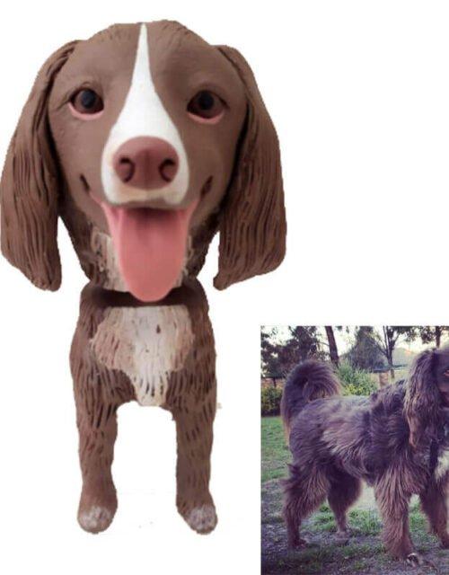 Custom Dog Bobblehead