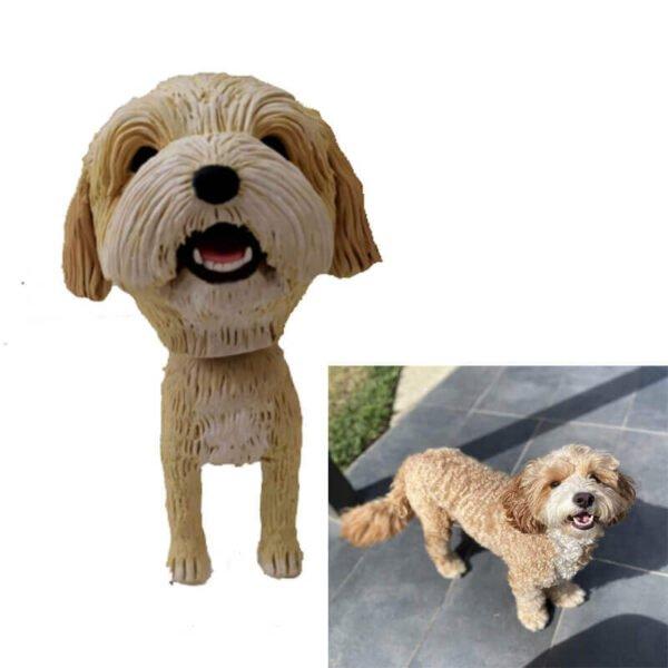 Custom Made Dog Bobbleheads